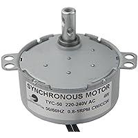 TYC-50 Motor sincrónico 220V AC 0.8-1RPM CW/CCW Esfuerzo de torsión 10Kg.cm