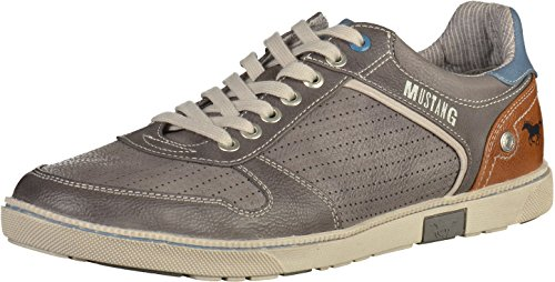 Mustang 4073-306 Herren Sneakers Grau