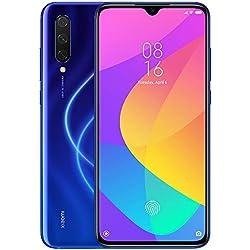 """Xiaomi Mi 9 Lite Teléfono 6GB RAM + 128GB ROM, Pantalla de Caída de Puntos de 6.39"""", Procesador Snapdragon 710 Octa-Core, 32MP Frontal y 48MP AI Cámara Trasera Triple Móviles Versión Global (Azul)"""