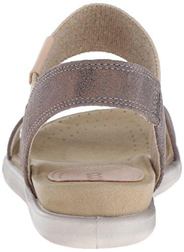 Ecco Ecco Damara Sandal, Sandales Bride arrière femme Gris - Grau (WARM GREY05375)