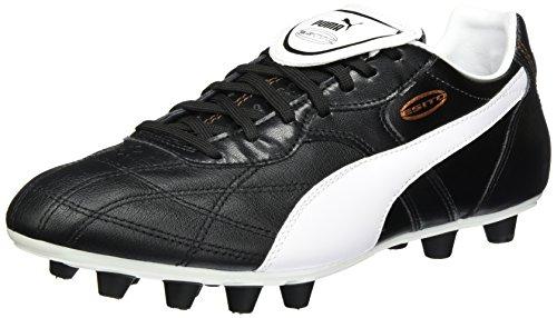 Puma Esito Classico FG, Herren Fußballschuhe, Schwarz (black-white-bronze 01), 44 EU (9.5 Herren UK) (Schuhe Für Herren Puma 2014)