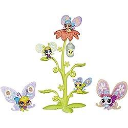 Littlest Petshop - Coffret de 6 Figurines Petshop - Ailes Multicolores