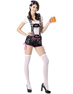 Pantaloni Di Lusso Di Ricamo Di Nihiug Pantaloni Modelli Femminili Adorabili Di Halloween Di Oktoberfest Uniforme...
