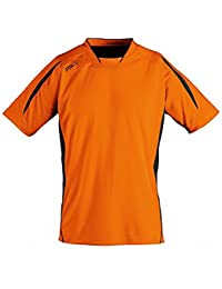 SOLS Camiseta de manga corta para fútbol modelo Maracana 2 para niños 042097d6477e5