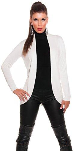 Koucla - Pull - Femme Taille unique Crème