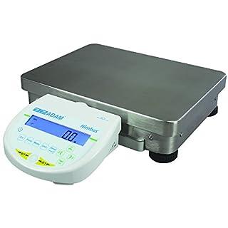 AE ADAM NBL 22001e Präzisionswaage, 22000 g Kapazität, 0.1 g Ablesbarkeit, externe Kalibrierung