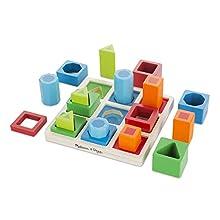 Melissa & Doug 10582 Classic Toys, Multicolour