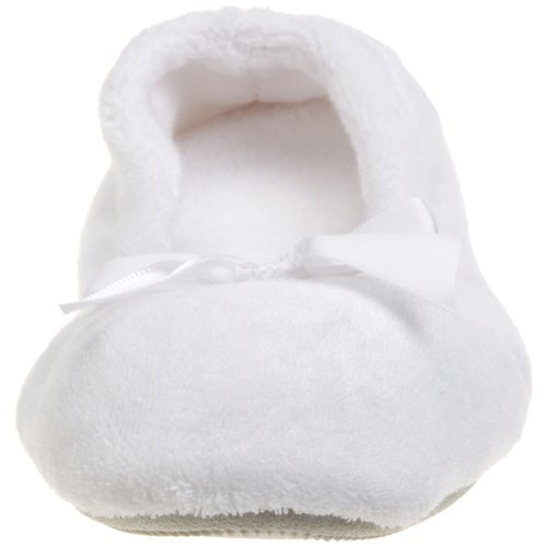 Isotoner ISOTONER 9896H, Ballerine donna One size White