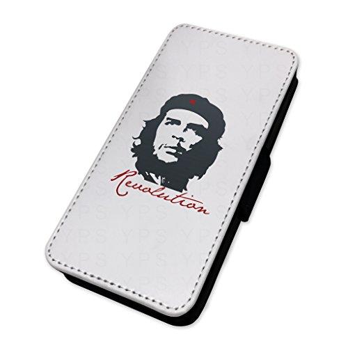 che Guevara rivoluzionario–Custodia ad aletta in pelle copertura di carta Apple Iphone X