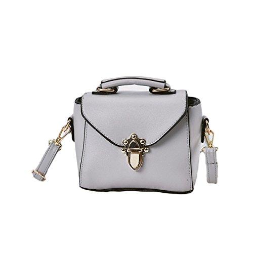 KYFW Womens Fashion Lock Handtasche Schulter Diagonal Gezeiten Kleine Square Bag A