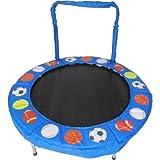 Trampolin 4'Bouncer für Kids By Jumpking, Blue Sport Balls