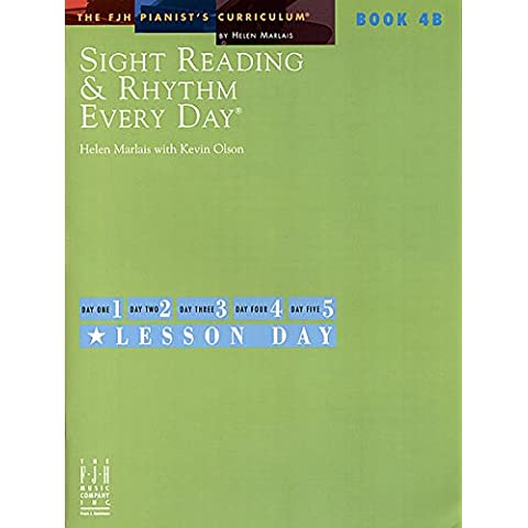 Sight Reading And Rhythm Every Day Book 4B Pf