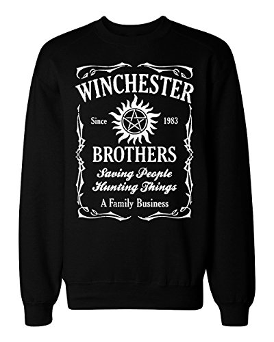 Saving People Hunting Things Family Business Men's Women's Unisex Sweatshirt Small