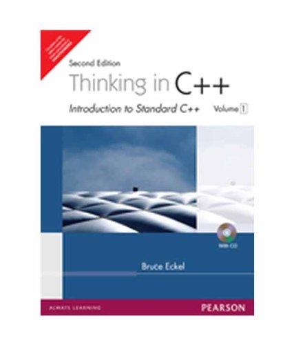 Thinking in C++, Vol. 1, 2e