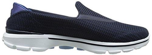 Skechers GO Walk 3, Damen Sneakers Blue (Nvw)