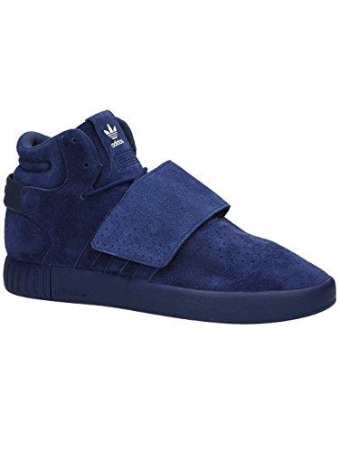 Herren Sneaker adidas Originals Tubular Invader Strap Sneakers, Blau, 44 - Adidas Strap Tubular