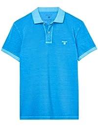 Gant Herren Poloshirt Größe 3XL Blau (blau)