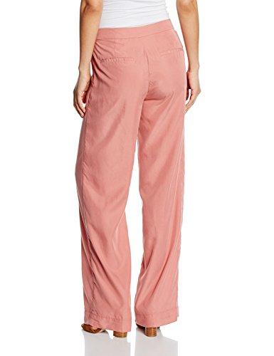 TOM TAILOR Damen Hose Wide Leg Pants Rot (blush red 4209)