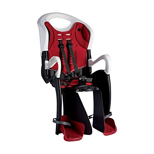 Bellelli Siège arrière Tiger Attaque de toit Blanc/Noir (Emotion)/Rear Child Bike Seat Tiger Carrier Clamp Mount White/Black (seats)