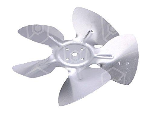 Whirlpool Lüfterrad ø 154mm saugend Breite 34mm Drehrichtung linksdrehend/saugend ø 154mm Flügelwinkel 28° Aluminium -