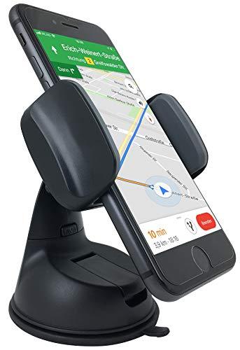 THEVERY® - Smartphonehalterung für die Windschutzscheibe - Handy Smartphone Auto Kfz PKW Befestigung Halterung Carholder