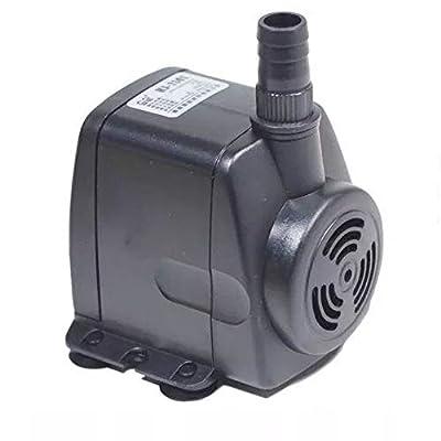 Nicepets–Pompe à Eau Submersible de 1800litres/Heure et 40W de Puissance pour Circulation d'eau Douce ou Marine en Aquariums, produisant, bassins et Sources