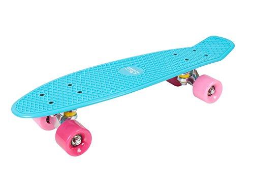 HUDORA Skateboard Retro Skate Wonders, türkis - Skateboard Vintage, 12151