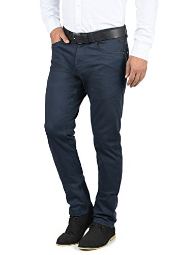 BLEND Saturn Herren Chino-Hose lange Hose Casual aus hochwertiger Baumwolllmischung, Größe:W32/32, Farbe:Navy (70230)