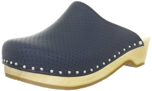 Berkemann Standard Toeffler 00400, Zoccoli unisex adulto Blu