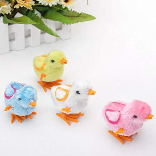 Cute Little Toy Stuffed Chicken Chain Clockwork Chick Chicken for Kids Boys Girls ()
