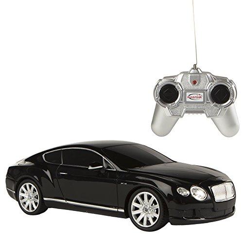 rastar-bentley-continental-gt-speed-coche-teledirigido-escala-124-color-negro-colorbaby-85048