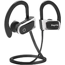 Auriculares Bluetooth, Bagotte In-Ear Auriculares Bluetooth 4.1 Cascos Inálambrico Deportivos Resistente al Agua