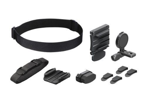 Sony BLTUHM1 Universal Head Mount for Action Cam (Black)