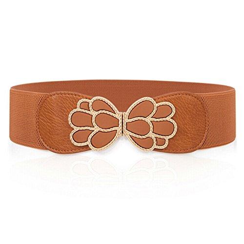 Signora arco nastro/Elastica cintura elastica/Estate moda cinture-A