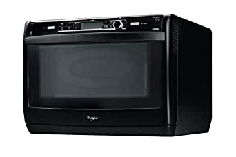 whirlpool jet chef combi microwave black large appliances. Black Bedroom Furniture Sets. Home Design Ideas