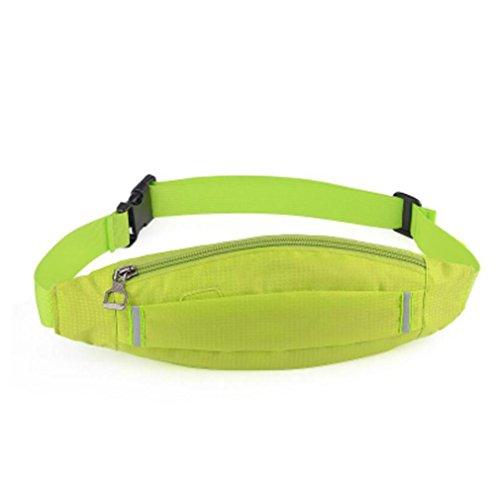 OOFWY Fanny Pack Sport Läufer Taille Pack mit 2 Taschen Bum Tasche für Männer und Frauen 13