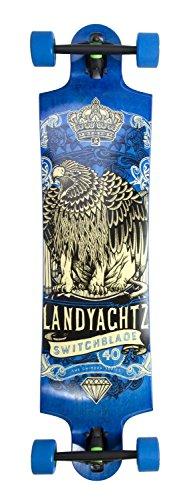 "Landyachtz 2016 Switchblade 40"" - Maple Eagle Lion Longboard Completo"