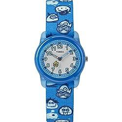 Timex Reloj Analógico para Niños de Cuarzo con Correa en Nailon TW7C25700