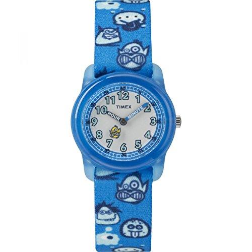 Timex Jungen Analog Quarz Uhr mit Nylon Armband TW7C25700