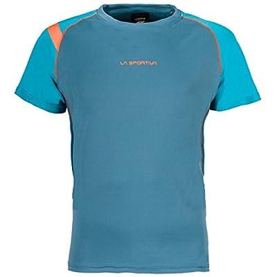 La Sportiva Motion T-Shirt Men Lake/Tropic Blue 2018 Laufshirt kurzarm