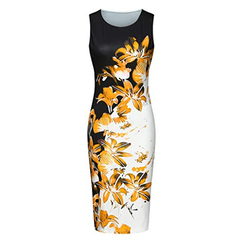 Qingsiy Damen Hoch Taille Etuikleid Laternenhülse Bleistiftrock Vintage Etuikleid Elegant Cocktail - Asymmetrische Geraffte Kleid