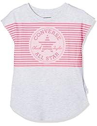 Converse Optic Chuck Patch Tee, T-Shirt Fille, Gris