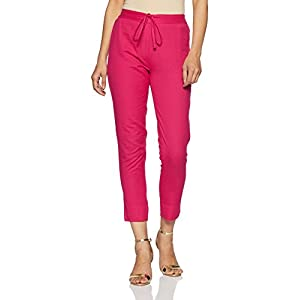 Amazon Brand – Myx Women's Cotton Blend Tapered Pants