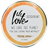 We Love The Planet: Deocreme Original Orange (48 g)