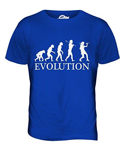 CandyMix Krimi Evolution Des Menschen Herren T Shirt Königsblau