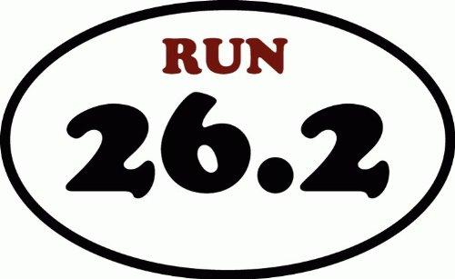 262-full-marathon-runner-logo-oval-de-haute-qualite-pare-chocs-automobiles-autocollant-12-x-8-cm