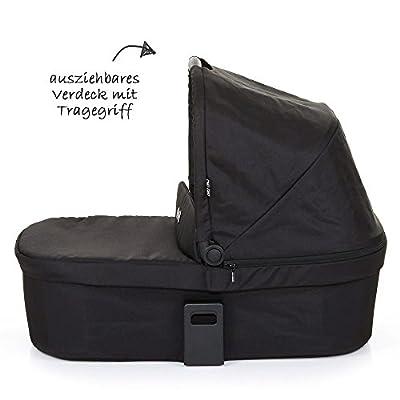 ABC Design Babytragetasche 91295708Coal Babywanne Weich Für Salsa 3/4und Zoom, schwarz