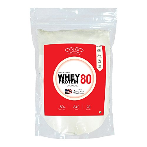 Sinew Nutrition Instantised Whey Protein Concentrate 80% Raw & Unflavoured...