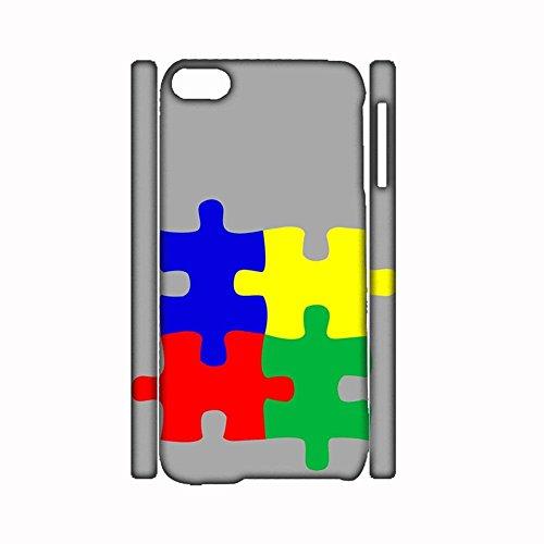 Babu Building F¨¹r Frauen Benutzen als Apple Ipod Touch 6 Handytaschen Abs Leicht Haben mit Autism 1