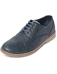 Bacca Bucci Men Blue Synthetic Leather Casual Shoes